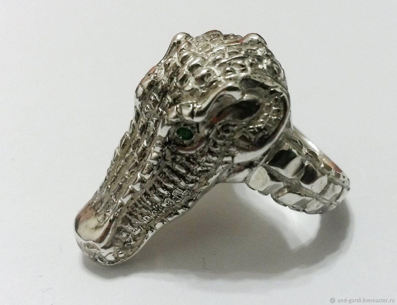 """Перстень """"Крокодил"""", Перстень, Санкт-Петербург,  Фото №1"""