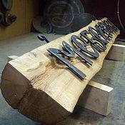 Дизайн и реклама ручной работы. Ярмарка Мастеров - ручная работа Вывеска на бревне. Handmade.