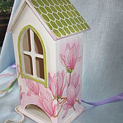 Для дома и интерьера handmade. Livemaster - original item Tea house Spring mood. Handmade.