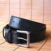 handmade. Livemaster - original item Men`s belt leather. Handmade.