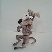 Куклы и игрушки ручной работы. Ярмарка Мастеров - ручная работа Собака Симпсонов. Handmade.