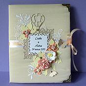 Свадебный салон ручной работы. Ярмарка Мастеров - ручная работа Папка для свидетельства о браке. Handmade.