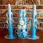 Свадебный салон ручной работы. Ярмарка Мастеров - ручная работа Свадебные свечи. Семейный очаг.. Handmade.