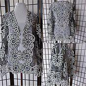 """Одежда ручной работы. Ярмарка Мастеров - ручная работа Жакет """"Надежда"""" серый. Handmade."""
