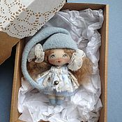 Куклы и игрушки ручной работы. Ярмарка Мастеров - ручная работа Куколка Брошка гномочка. Handmade.