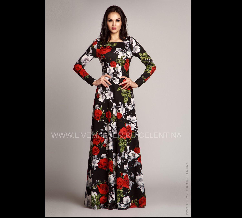 Купить бальное черное платье