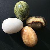Фен-шуй и эзотерика handmade. Livemaster - original item Eggs from stone calcite white, calcite onyx, septaria. Handmade.