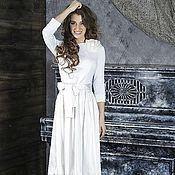 Одежда ручной работы. Ярмарка Мастеров - ручная работа 178: Стильное платье на выпускной с юбкой баллон, коктейльное платье. Handmade.