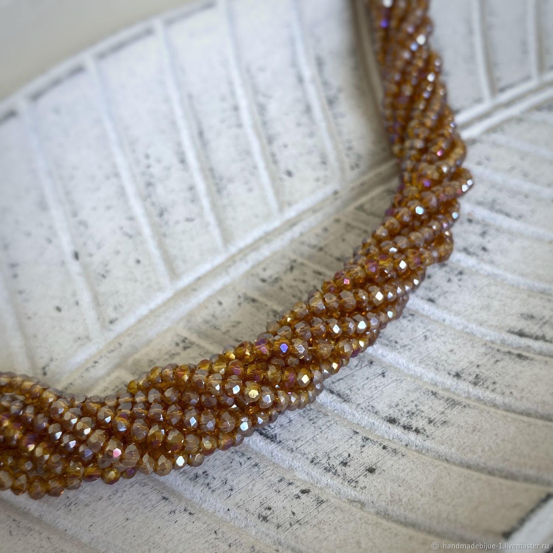 Рондели 2мм цвет: Янтарно-золотой АВ, Бусины, Москва,  Фото №1