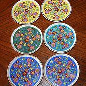 Винтаж handmade. Livemaster - original item Set of six plates for buffet table, Japan. Handmade.