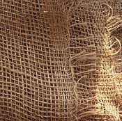 Материалы для творчества ручной работы. Ярмарка Мастеров - ручная работа 50х110 см, Мешковина джутовая. Handmade.