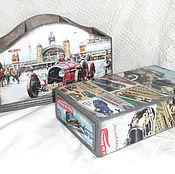Канцелярские товары handmade. Livemaster - original item Pencil case pencil Rally. Handmade.