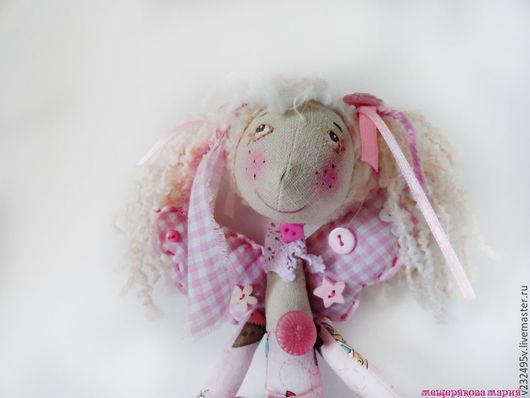 """Коллекционные куклы ручной работы. Ярмарка Мастеров - ручная работа. Купить Куколка """"Гламурная Швейка"""". Handmade. Розовый, куклы и игрушки"""