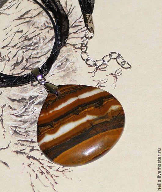 Кулоны, подвески ручной работы. Ярмарка Мастеров - ручная работа. Купить Кулон из тигрового глаза Лакомый кусочек. Handmade.