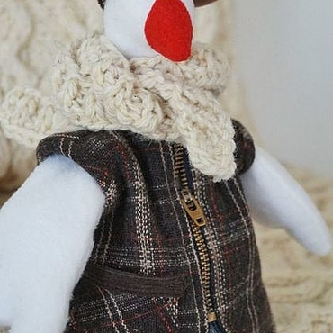 Куклы и игрушки ручной работы. Ярмарка Мастеров - ручная работа Кукла Тильда Гусь. Handmade.