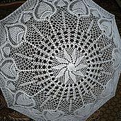 Аксессуары ручной работы. Ярмарка Мастеров - ручная работа Большой вязаный зонт. Handmade.