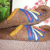 """Обувь ручной работы. Ярмарка Мастеров - ручная работа Тапки-шлепки мужские """"Султан"""". Handmade."""