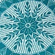 Текстиль, ковры ручной работы. Мини-скатерть Цвета Морской Волны. Марина. Ярмарка Мастеров. Подарок девушке, ручная работа