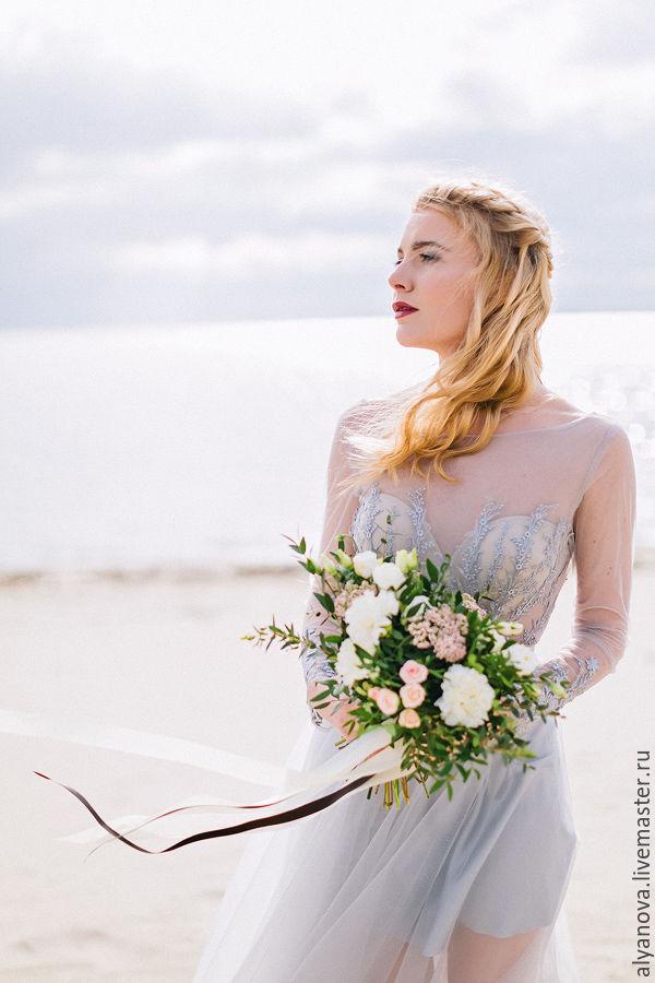 13b53da3fab ручной работы. Ярмарка Мастеров - ручная работа. Купить Легенда. Handmade. Свадебное  платье ...