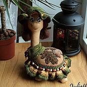 Куклы и игрушки handmade. Livemaster - original item Coffee bug