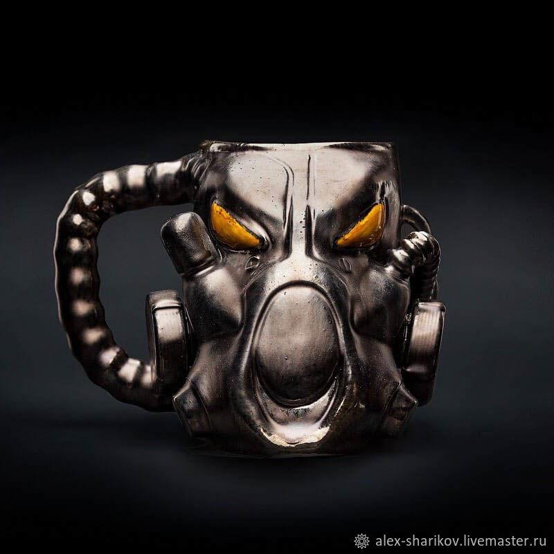 Кружка X-01 Fallout (Фоллаут) керамика/фаянс, Кружки и чашки, Санкт-Петербург,  Фото №1