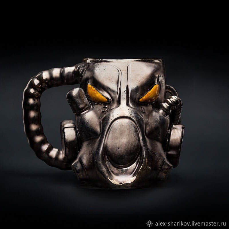 Кружка X-01 Fallout (Фоллаут) Power Armor Ceramic Mug, Кружки, Санкт-Петербург,  Фото №1