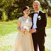 Свадебный салон ручной работы. Ярмарка Мастеров - ручная работа Свадебное платье для Марии. Handmade.