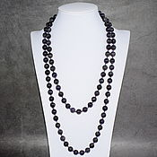 Украшения handmade. Livemaster - original item Natural Amethyst Long Beads. Handmade.