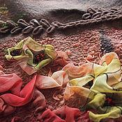 """Аксессуары ручной работы. Ярмарка Мастеров - ручная работа Комплект шапка и бактус """" Для неё"""". Handmade."""