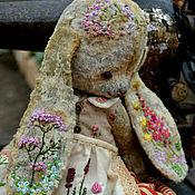 """Куклы и игрушки ручной работы. Ярмарка Мастеров - ручная работа Плюшевая зайка """"Фрося"""". Handmade."""