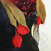 """Аксессуары ручной работы. Ярмарка Мастеров - ручная работа бактус """"Кармен"""". Handmade."""