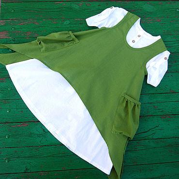 Товары для малышей ручной работы. Ярмарка Мастеров - ручная работа Детское платье в стиле бохо. Handmade.