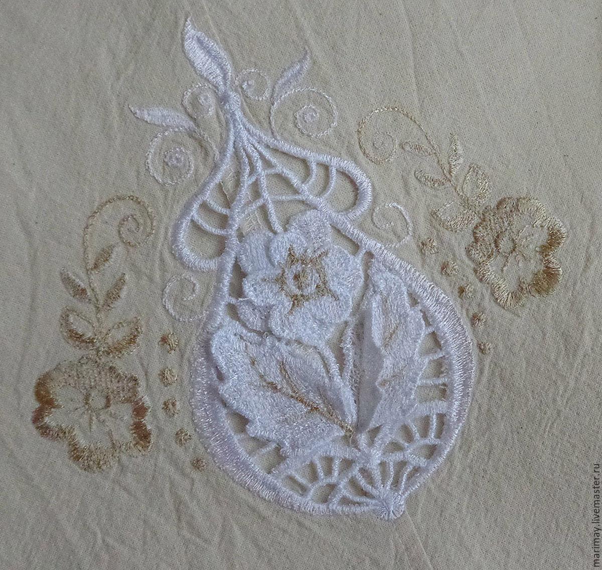 Дизайны к вышивке ришелье