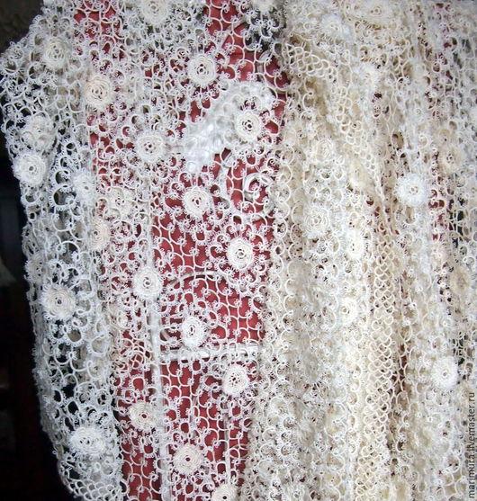 """Винтажные предметы интерьера. Ярмарка Мастеров - ручная работа. Купить скатерть """"Бирма"""". Handmade. Белый, скатерть вязаная"""