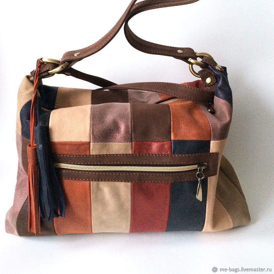 Yalta.  Leather bag with metal coating, Classic Bag, St. Petersburg,  Фото №1