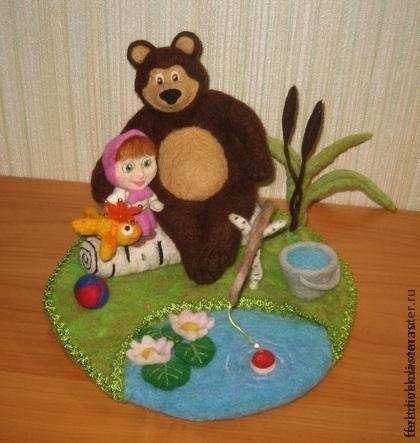 Подделка медведя своими руками