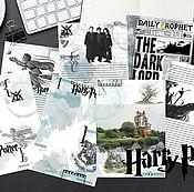 """Дизайн и реклама ручной работы. Ярмарка Мастеров - ручная работа Электронные страницы """"Гарри Поттер_2"""". Handmade."""