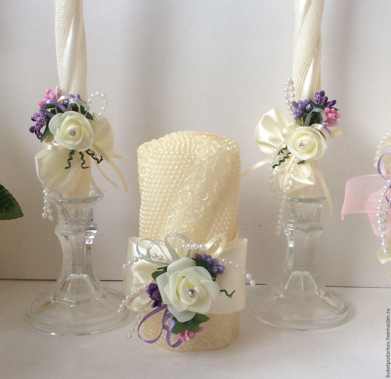 Свадебные свечи домашний очаг купить