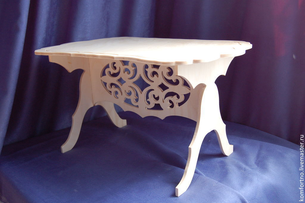 Table. Blank for decoupage and painting.937