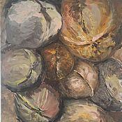 """Картины и панно ручной работы. Ярмарка Мастеров - ручная работа """"Грецкие орехи"""". Handmade."""