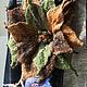 Брошь-цветок, как в комплекте `Осень в Филадельфии`, повтор. Продана Цена 1700 руб