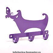 """Для дома и интерьера ручной работы. Ярмарка Мастеров - ручная работа крючок """"собака"""". Handmade."""