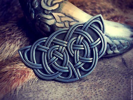 Пояса, ремни ручной работы. Ярмарка Мастеров - ручная работа. Купить Пряжка с кельтским мотивом. Handmade. Пряжка, пряжка для пояса