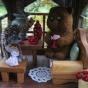 """Куклы и игрушки ручной работы. Ярмарка Мастеров - ручная работа Авторский светильник """"Чаепитие с малиновым вареньем""""-2. Handmade."""
