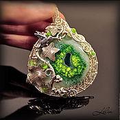 Украшения ручной работы. Ярмарка Мастеров - ручная работа Агат в серебре.. Handmade.