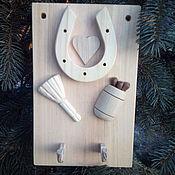 Ключницы ручной работы. Ярмарка Мастеров - ручная работа Ключница с подковой. Handmade.