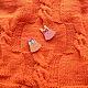 """Пледы и одеяла ручной работы. Ярмарка Мастеров - ручная работа. Купить Вязаный пледик для новорожденного """"Солнечный"""". Handmade. Рыжий"""