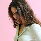 "Одежда handmade. Livemaster - original item Felted jacket mint green ""Romance"". Handmade."