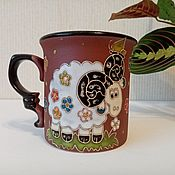 Посуда handmade. Livemaster - original item Handmade ceramic mug:RAM. Handmade.