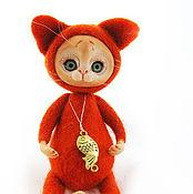Куклы и игрушки ручной работы. Ярмарка Мастеров - ручная работа Рыжик. Handmade.